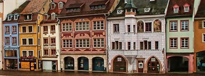 Mulhouse in France's Alsace region is full of quaint charm.