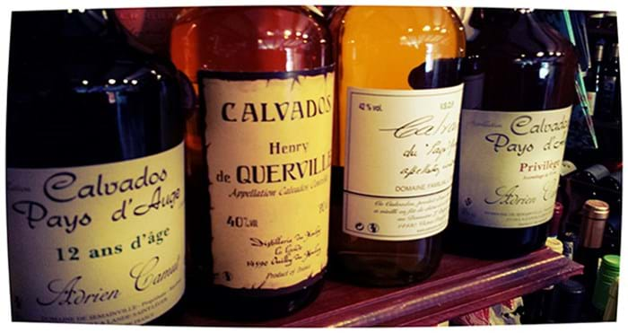 calvados, a delicious apple brandy