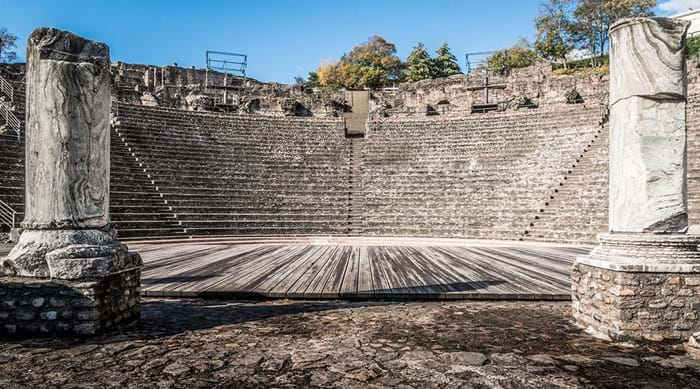 The Ancient Theatre of Fourvière is France's oldest Roman theatre