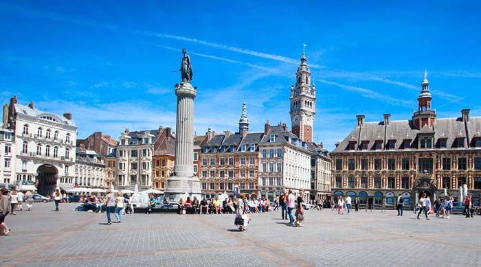 Take in the colourful 17th and 18th century architecture of Lille.