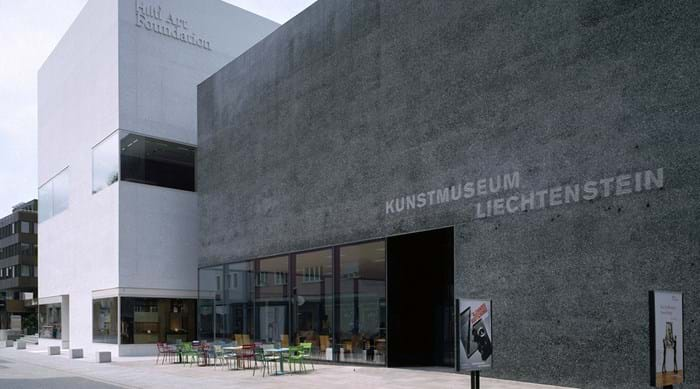 The Kunstmuseum Liechtenstein, state museum of modern and contemporary art in Vaduz
