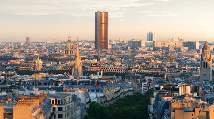 Montparnasse, Paris, where Yves Klein lived