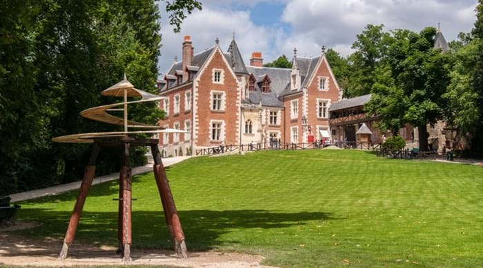 The beautiful Clos Lucé