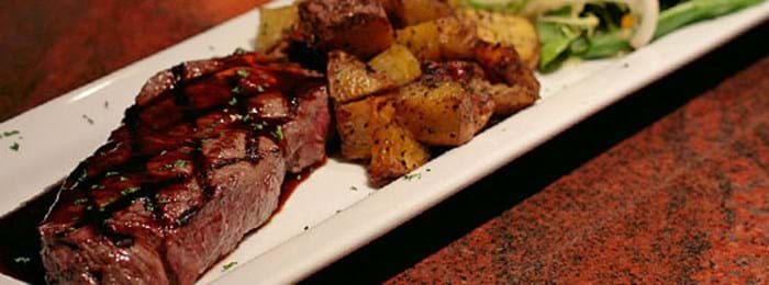 Dig into steak at one of Halle's many restaurants
