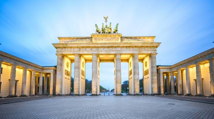 Brandenburg Gate, Berlin's iconic symbol of peace.
