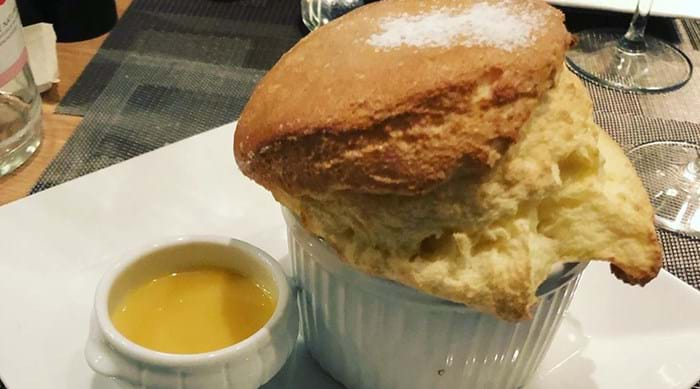 Treat yourself to a Soufflé from L'Affable
