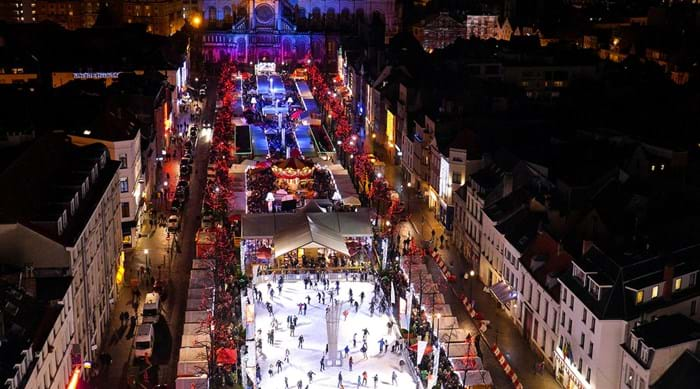 Enjoy the traditional fairground rides in Brussels this Christmas