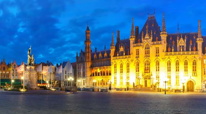 Bruges is home to incredible architecture