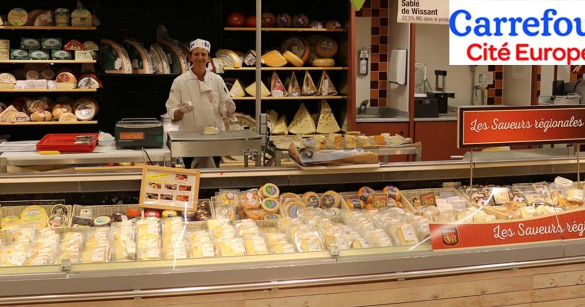Carrefour Cite Europe Hypermarket Eurotunnel Le Shuttle
