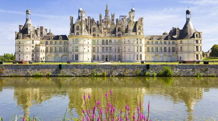 The palatial Château de Chambord, possibly the world's most famous castle