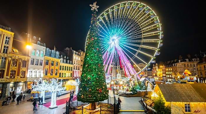 Explore the festive sights in Lille