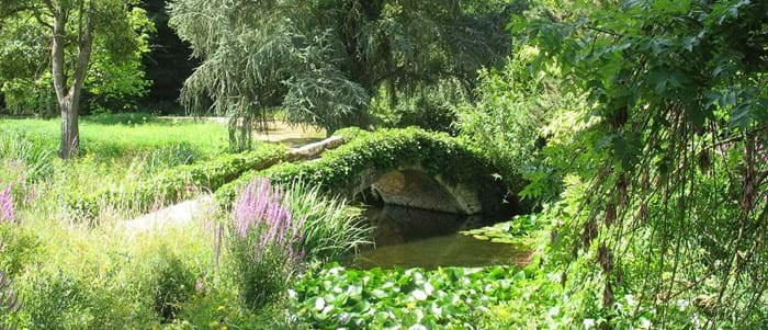 Take a stroll through the beautiful Parc Floral de la Source
