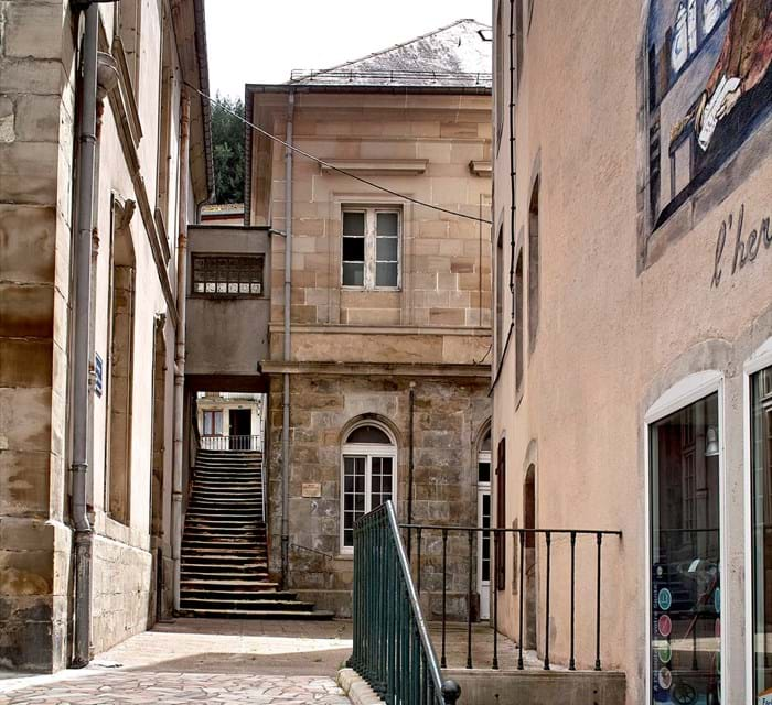 A stroll through the town of Plombières-les-Bains is almost as relaxing as their hot spring spas