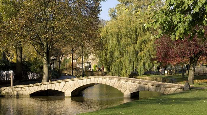 Bourton-on-the-Water, het Venetië van de Cotswolds.