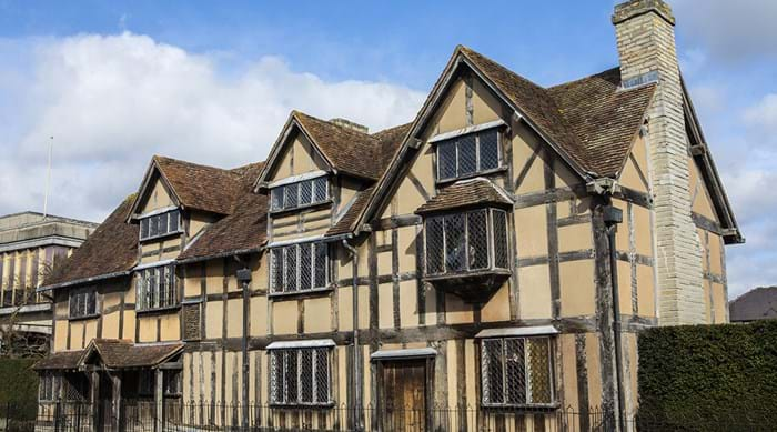 In Stratford-upon-Avon speelt William Shakespeare de hoofdrol!