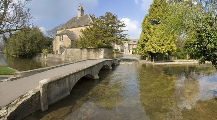 Brug in Bourton-on-the-Water