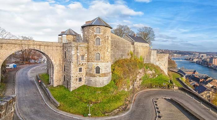 Namur is home to the famous Citadelle de Namur, a must-see for any visitor!