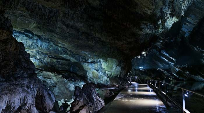 Venture down into the caves of Grottes de Han. Just don't forget a torch…