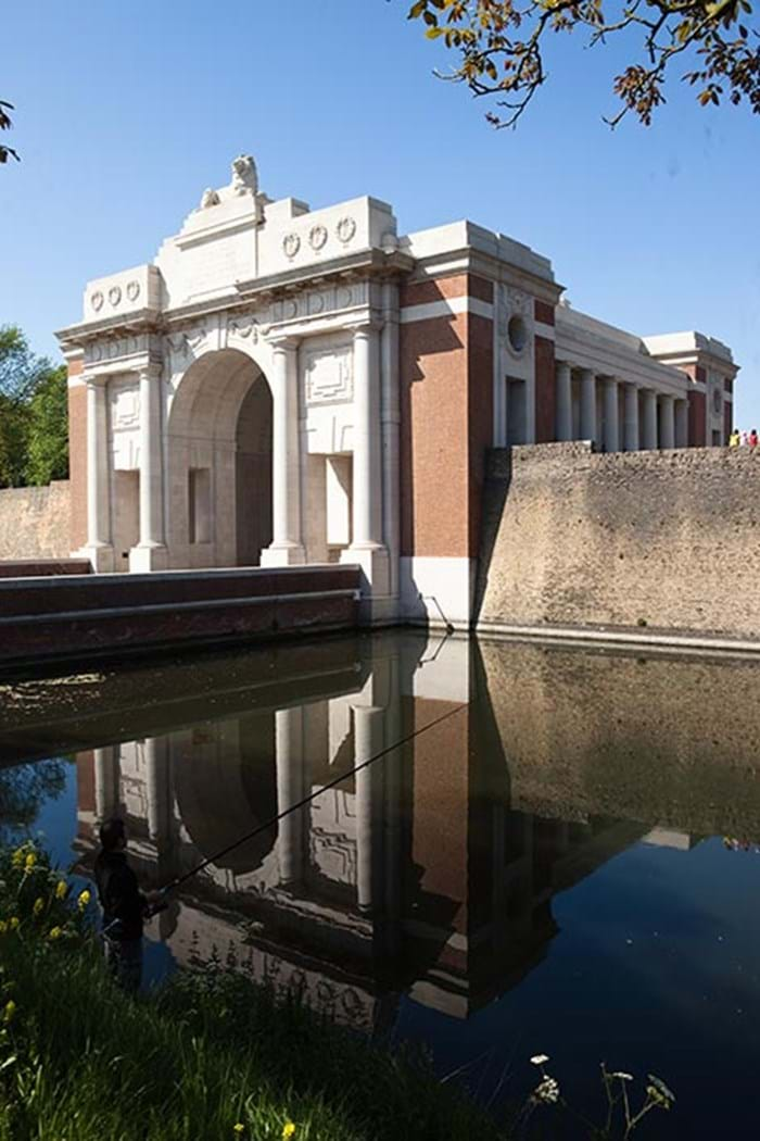 The Menin Gate Ceremony is a daily tribute to the soldiers who died in battle.