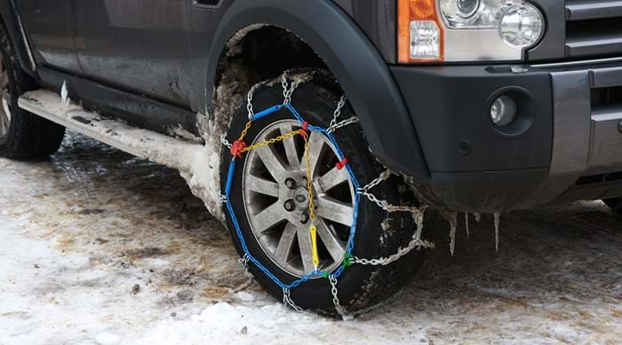 Get snow chains for your tyres.