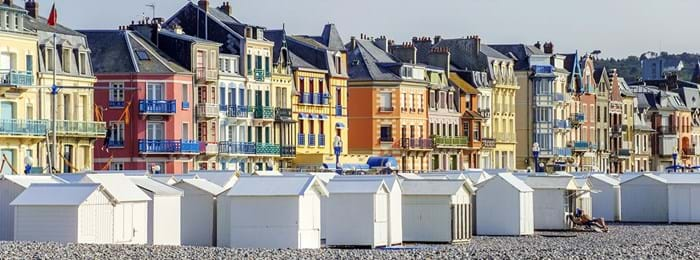 The seaside town of Dieppe is a beautiful spot, surrounded by many picturesque villages along the way.