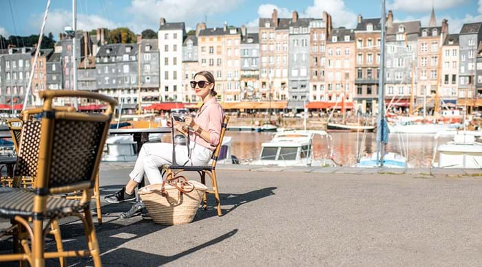 Enjoy the heart of Honfleur at the harbour