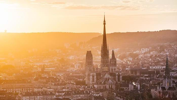 Rouen is a historical city, the backdrop to the legends of Joan of Arc and Richard the Lionheart.