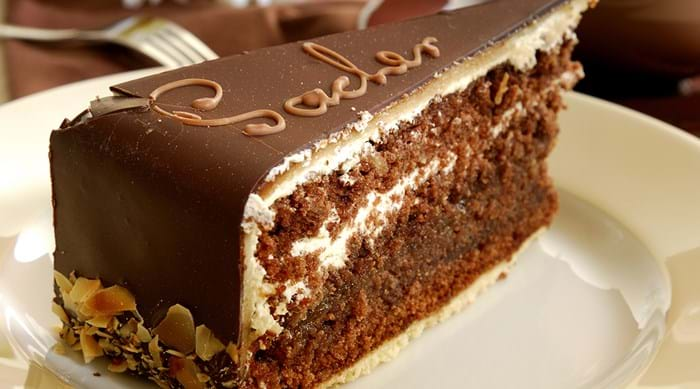 Sachertorte is so popular that Austrians celebrate National Sachertorte Day each December