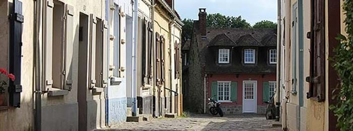 The streets of Montreuil-sur-Mer