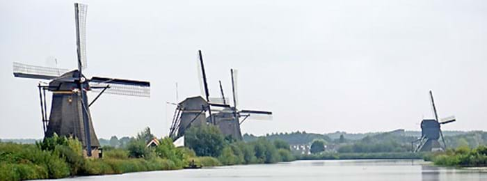 Learn more about mills in the village of Kinderdijk