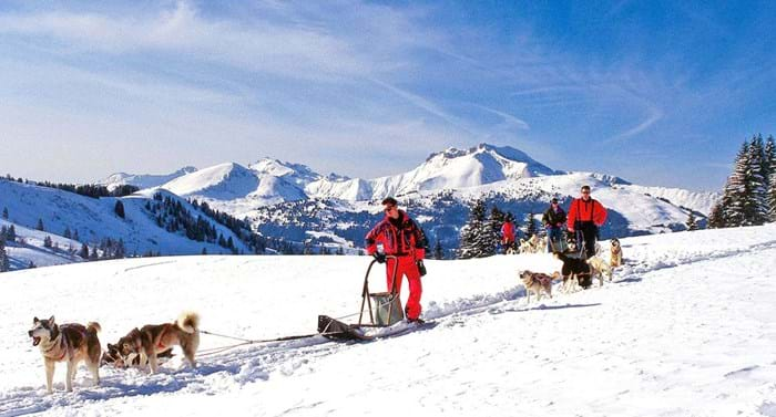 Skiing isn't the only winter sport you can enjoy in Samoëns.