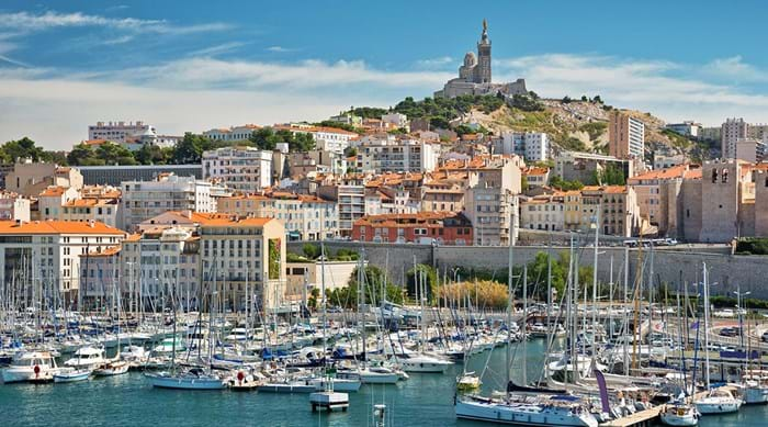 Enjoy the stunning coastal vistas that surround Marseille