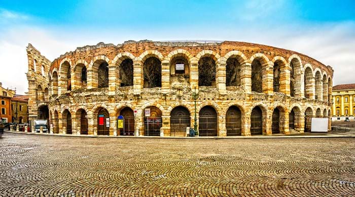 The Roman amphitheatre in Verona has stood for nearly 2000 years