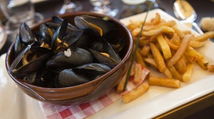 What's more French than moules-frites?