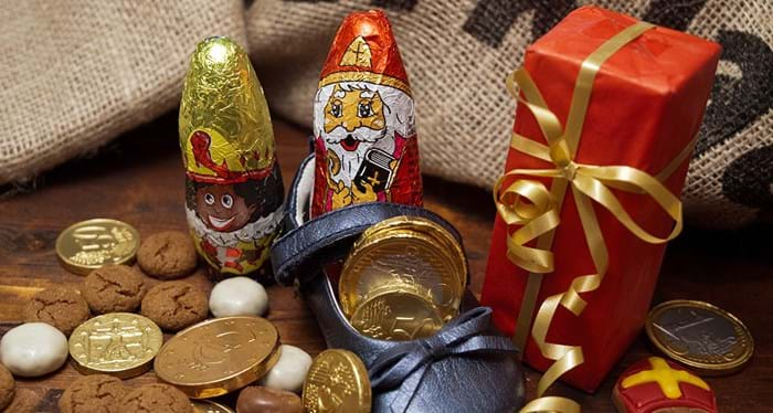 Children in France leave shoes or boots out for St Nicholas to fill with gifts