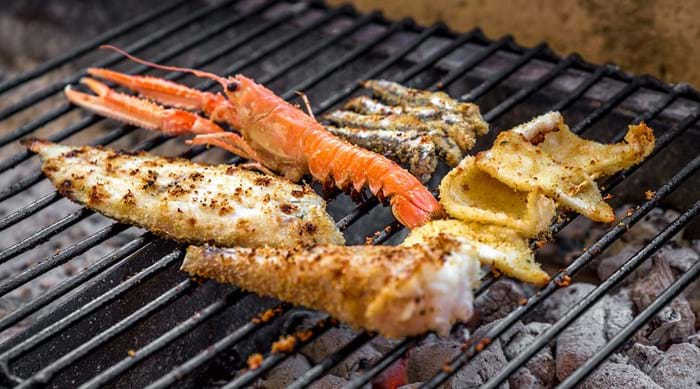 Experiment with adding some seafood to your barbeque menu.