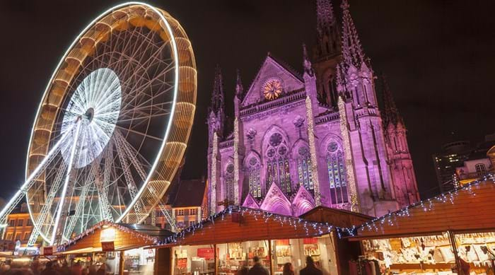 In the lead up to Christmas, towns and cities come alive with festive lights and markets