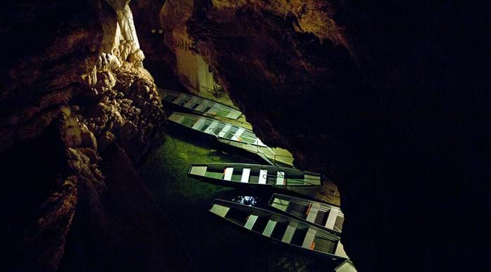 Take a boat through the labyrinthine chambers of the cave