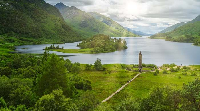 "Le monument ""The Glenfinnan"" en Inverness"