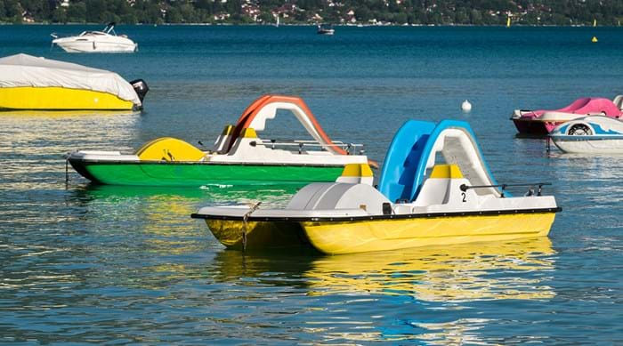 Get involved with water sports at Lake Annecy