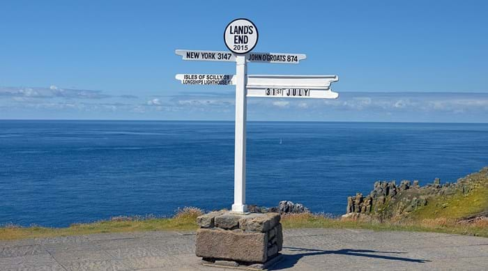 Welkom in Land's End