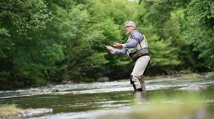 Fancy yourself a bit of a catch? Then some tranquil fishing is for you.
