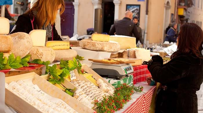 Look out for some of the amazing local cheese you can try at the European Taste Festival