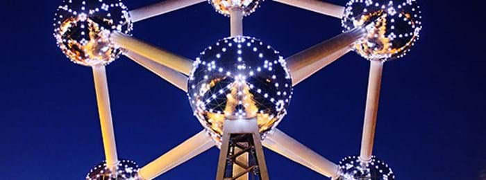 The Atomium Monument in Brussels attracts tourists from the world over