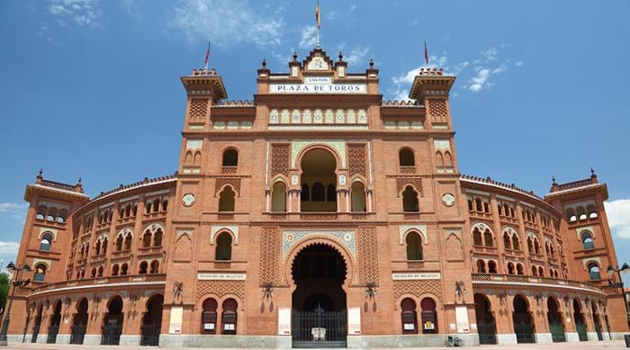Treat yourself to an ice cream after a hot day of touring the sights of Madrid, such as La Plaza de Toros de Las Ventas