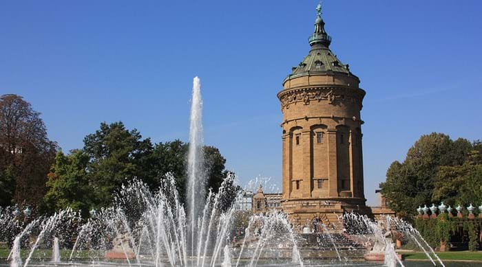 Spend a relaxing afternoon in the park in Mannheim, and enjoy a delicious ice cream