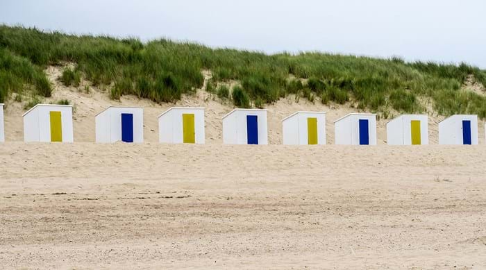 Cadzand has one of the most beautiful beaches in the Netherlands