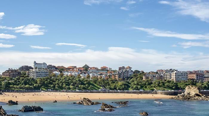 Beach at Santander in Cantabria