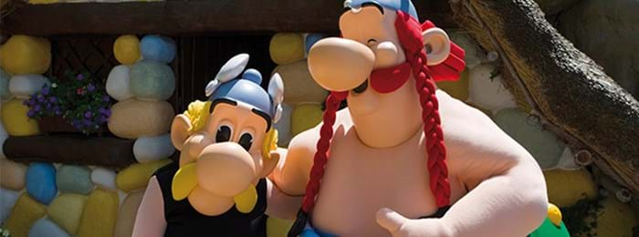 As if the wild rides at Parc Asterix weren't enough, you can even meet your favourite Asterix characters