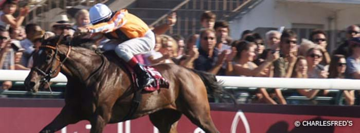 The Prix de l'Arc de Triomphe horse race